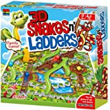 Kingso 3D Snake and Ladders Action Game, Multi-Colour