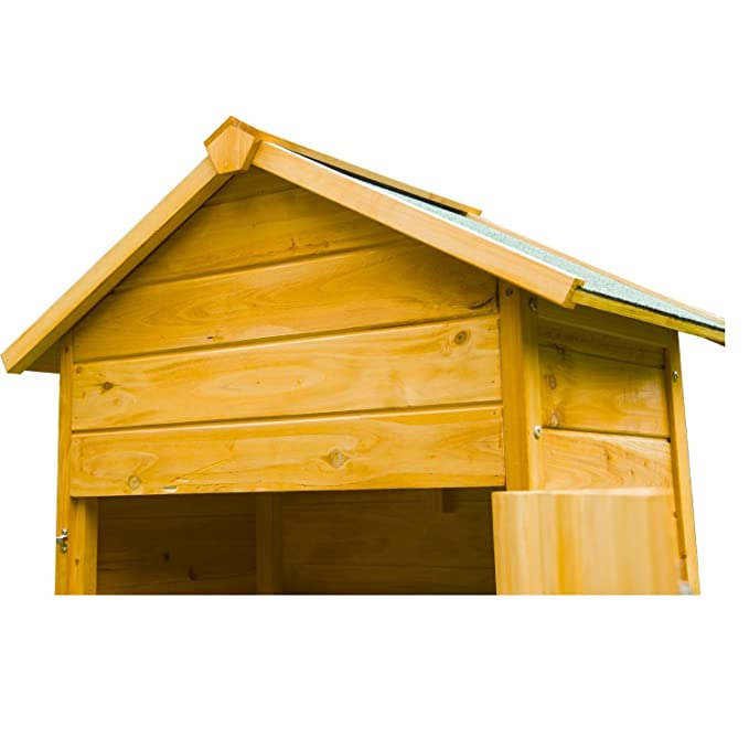 Outsunny - Armario de madera para exterior - Caseta para herramientas de jardinería: Amazon.es: Hogar