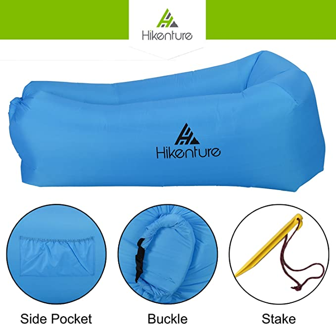 Amazon.com: Hikenture 3.0 - Tumbona inflable de aire ...