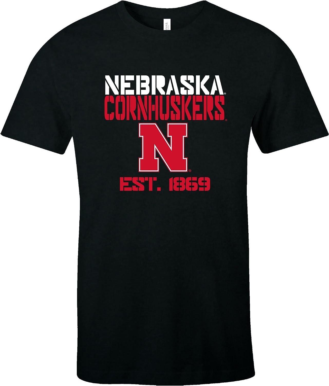 NCAA Est Stack ジャージ半袖Tシャツ S ブラック