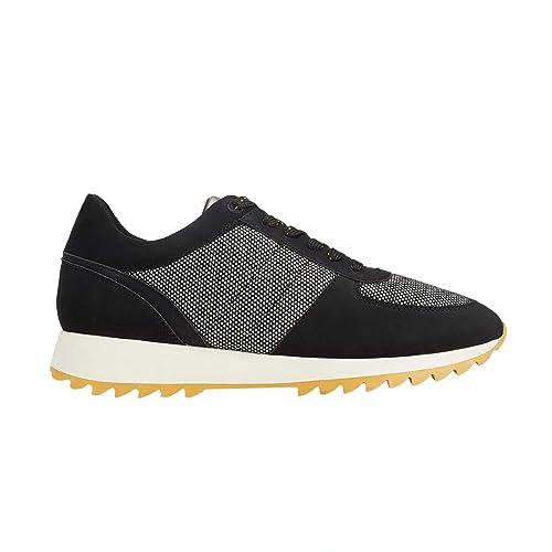 Parfois - Zapatillas Tweed - Mujeres - Tallas 41 - Negro: Amazon.es: Zapatos y complementos