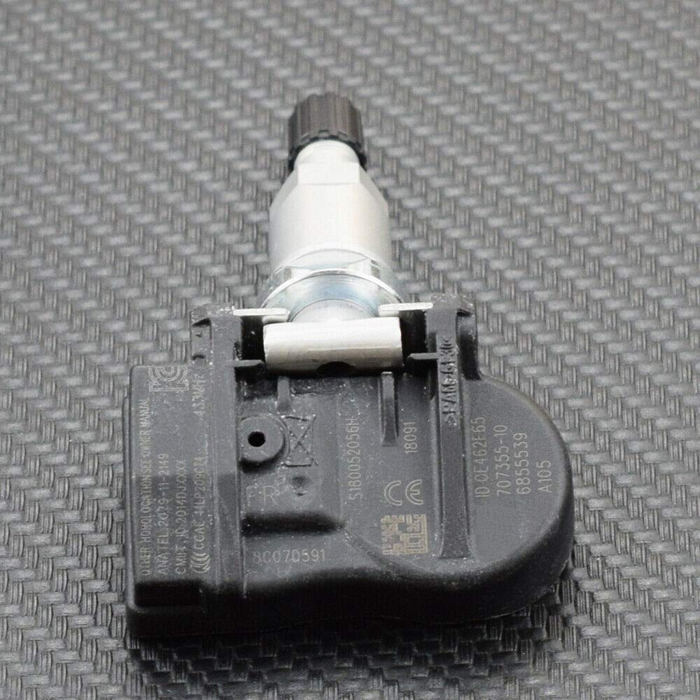 SODIAL 4X Tpms Rdks Reifen Druck Sensor 6881891 f/ür 1 2 3 4 X1 X2 X5 X6 36106881890