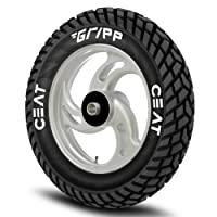 Ceat Gripp 90/100-10 53J Tube-Type Scooter Tyre, Rear (Home Delivery)