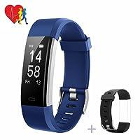Mpow Fitness Tracker, Aktivitätstracker, Herzfrequenzmonitor, Schlafmonitor, Schrittzähler mit 14 Trainingsmodi für Android iOS Smartphone.