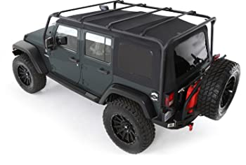 Smittybilt 76717 Jeep Wrangler Bike Rack