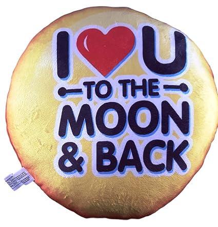 Amazon com: Soft Plush Emoticons Emoji Throw Pillow (Love