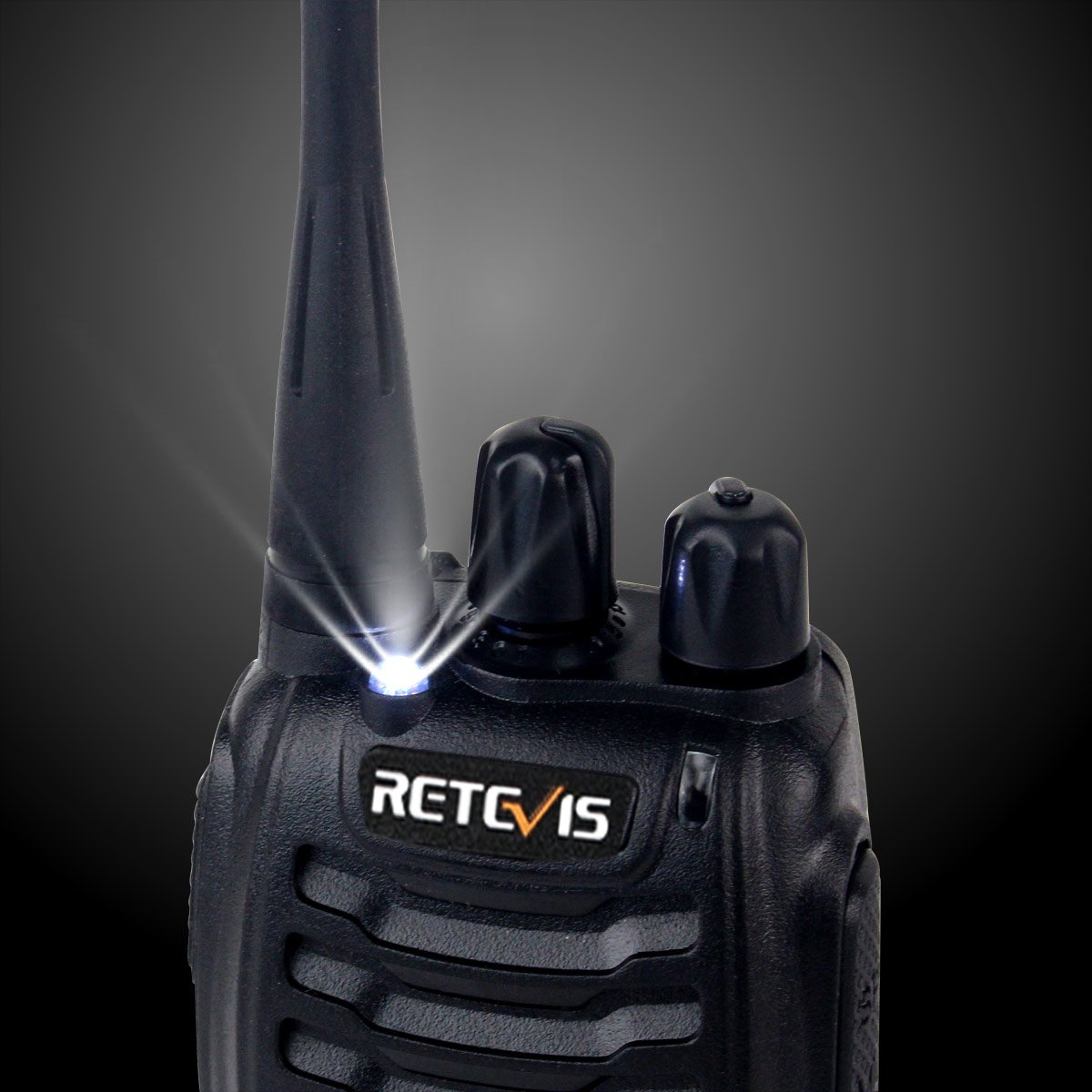 Retevis H-777 Two Way Radio UHF 400-470MHz Signal Frequency Single Band 16 CH Walkie Talkies with Original Earpiece (10 Pack) by Retevis (Image #5)