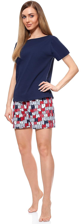 Merry Style Pijamas Ropa de Dormir Verano Pijama Pantalones y Camisetas Mujer MS10-177: Amazon.es: Ropa y accesorios