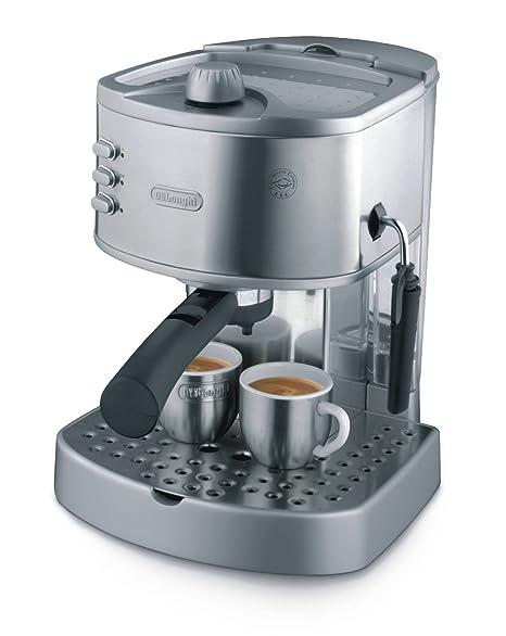 DeLonghi EC330S Pump-Driven Espresso Maker, Acero inoxidable - Máquina de café