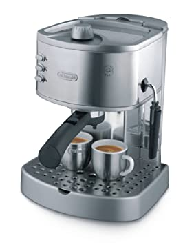 DeLonghi EC330S Pump-Driven Espresso Maker, Acero inoxidable - Máquina de café: Amazon.es: Hogar