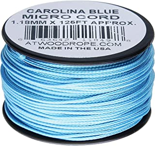 product image for Atwood Rope MFG Micro Cord 125ft Carolina Blue