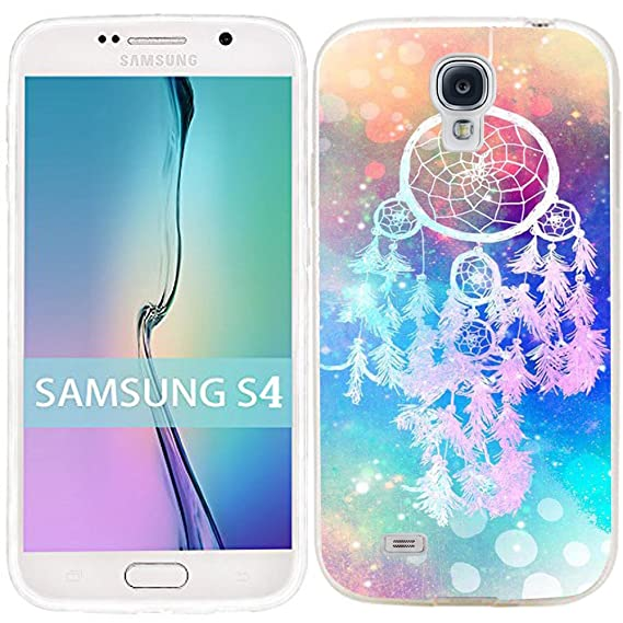 Samsung Galaxy S4 Case Dseason (TM) Samsung S4 Case Fashion Printing Series Plastic Material Dream catcher