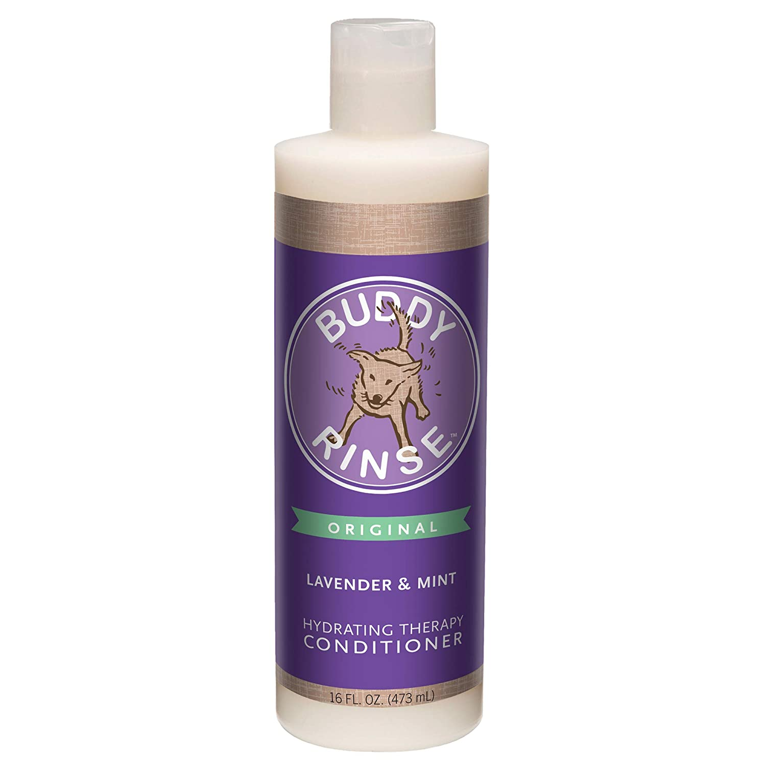 Cloud Star Buddy Rinse Dog Conditioner- Lavender and Mint 16-Ounce Bottles (Pack of 3)