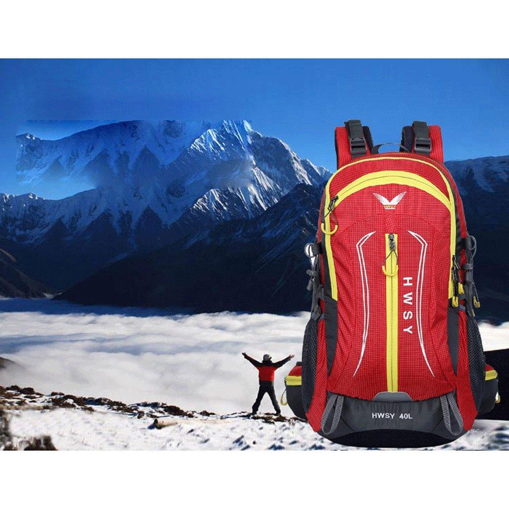 Das neue Outdoor-Kletterpaket 40L Reisetasche wasserdichte Wanderberghandelsmischfarben Umh?ngetasche