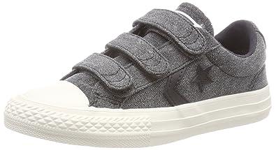 CONVERSE Star Player EV 2V OX Babies Black Shoes