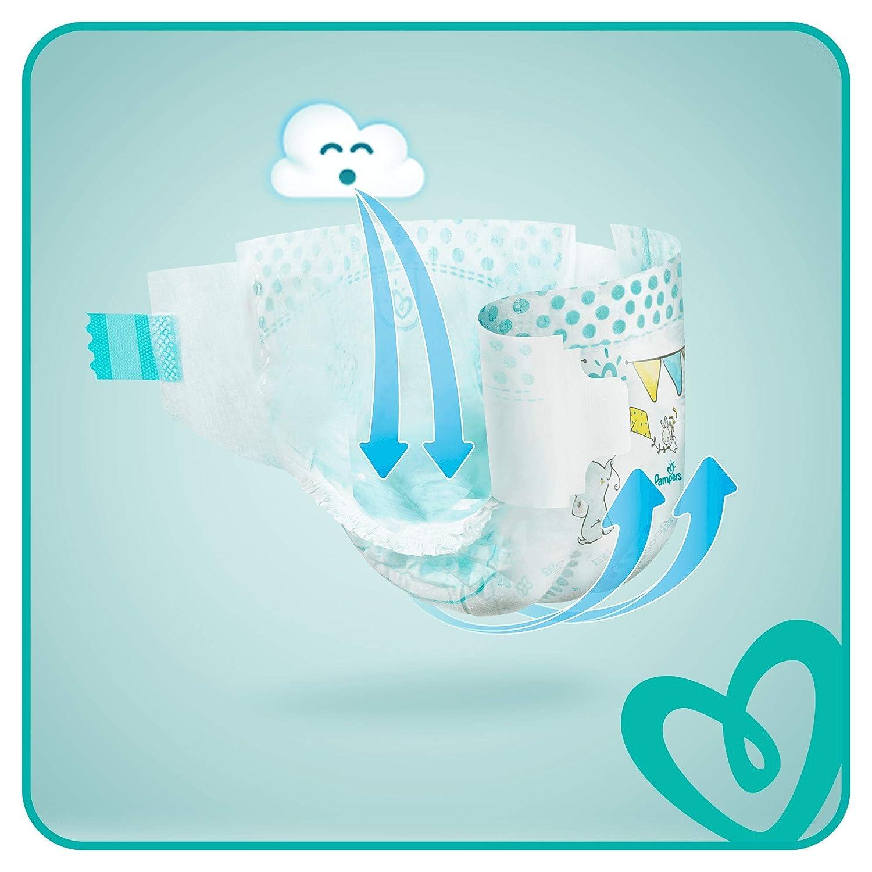 198 unidades 6-10 kg Pa/ñales para beb/és Talla 3 Pampers Baby Dry