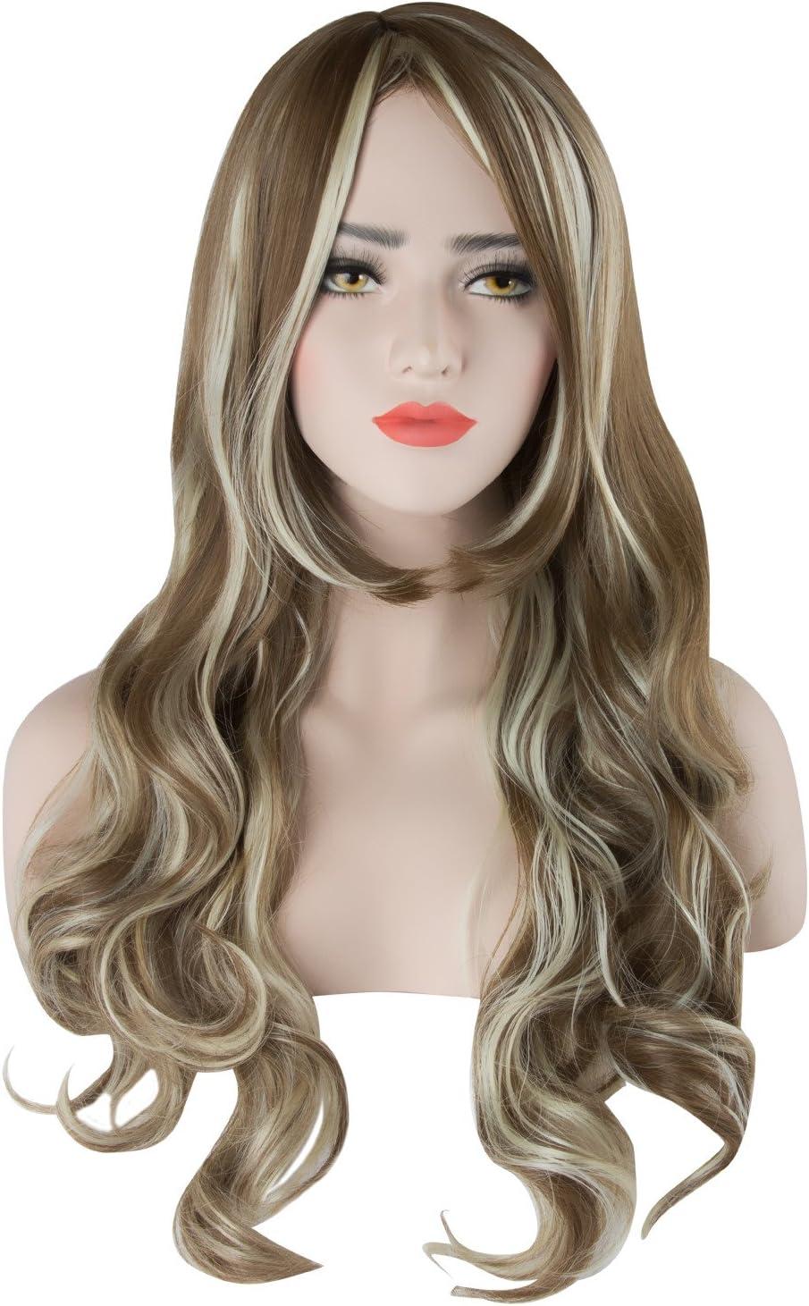 20s Auburn Silver Screen Sensation Long Wig Ladies Womens Fancy Dress Accessory