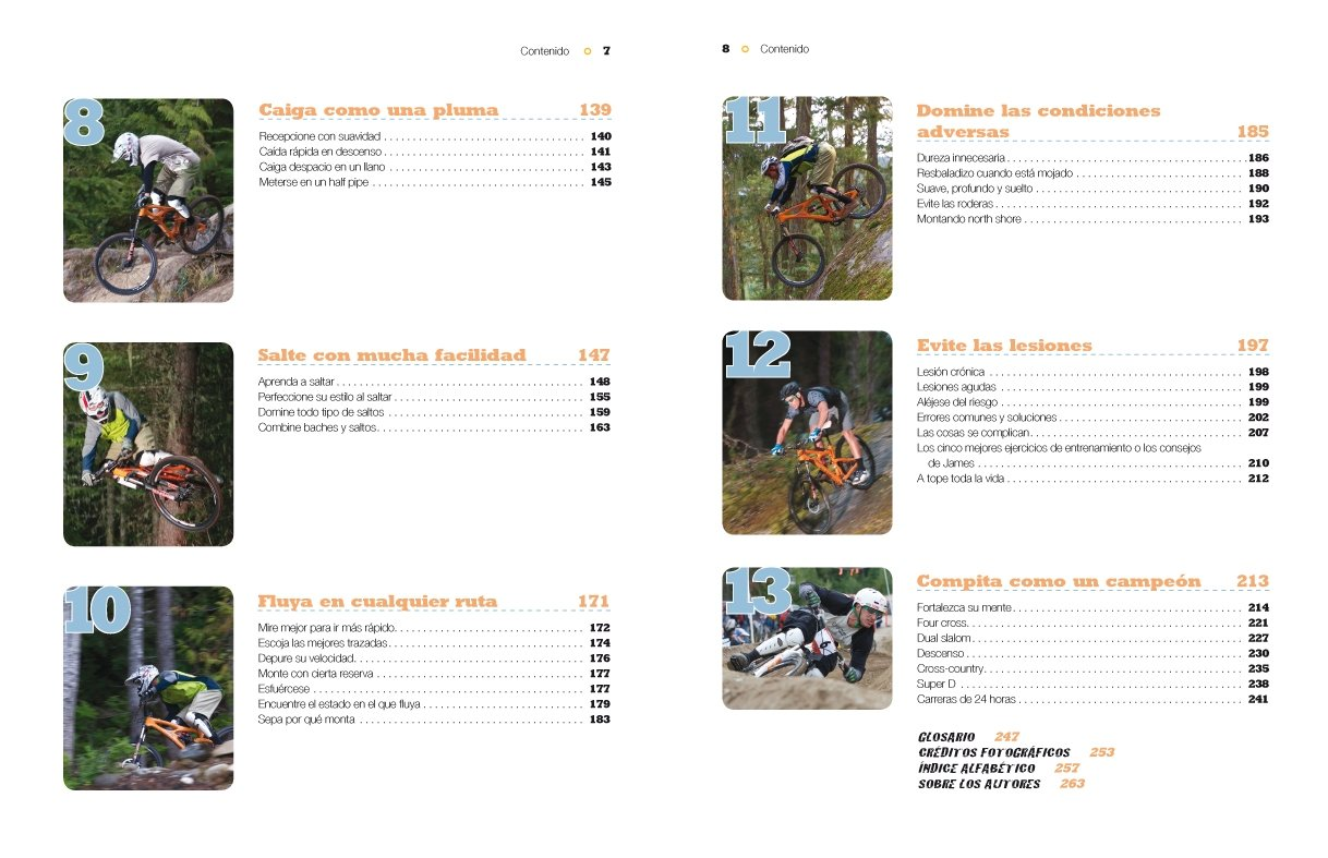 Tecnicas maestras de Mountain Bike / Master techniques of Mountain Bike (Spanish Edition): Brian Lopes: 9788479028756: Amazon.com: Books