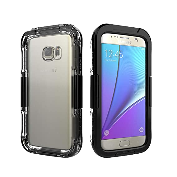 amazon com waterproof shockproof dust proof life cover case forimage unavailable image not available for color waterproof shockproof dust proof life cover case for samsung galaxy s6 s6 edge