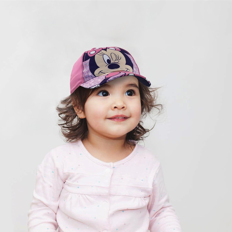 61483960f Disney Toddler Girls Minnie Mouse Bowtique Cotton Baseball Cap Age 2-4  MBS60179AZ Pink