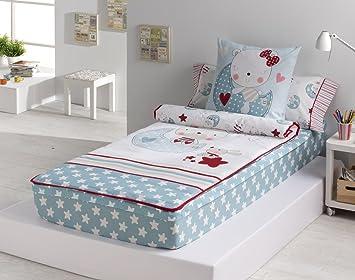 Textilonline - Saco Nordico Con Relleno Moon (Cama 105 cm): Amazon.es: Hogar