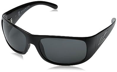 Amazon.com: Kaenon Jetty polarizadas anteojos de sol, negro ...