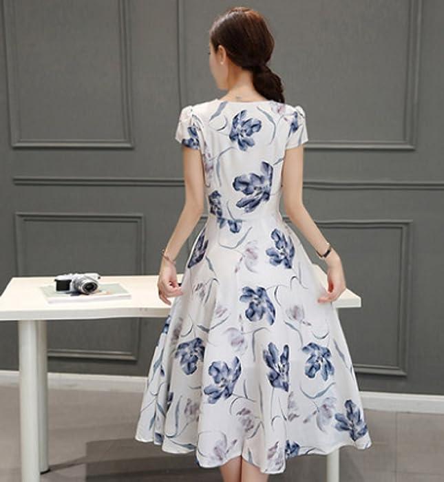 e853d93d95284 ... ひざ丈.  セオヴェル THEOVEL レディース 大きいサイズも ドレス ワンピース エレガント 白 青 カラー 柄 綺麗. 戻る. ダブル  ...