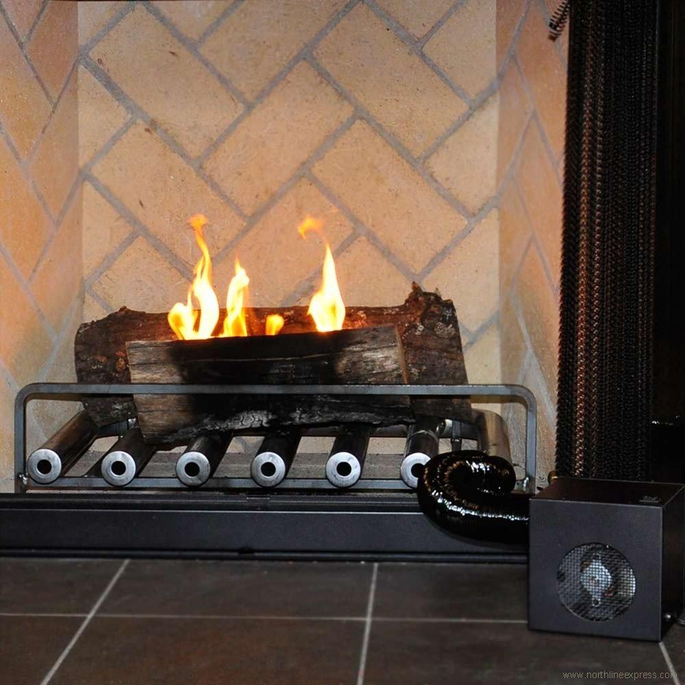 amazon com spitfire fireplace heater 6 tube w blower home