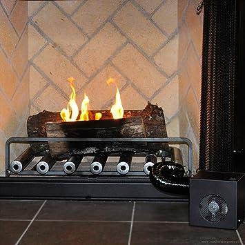 amazon com spitfire fireplace heater 6 tube w blower home kitchen rh amazon com fireplace heat exchanger tubes