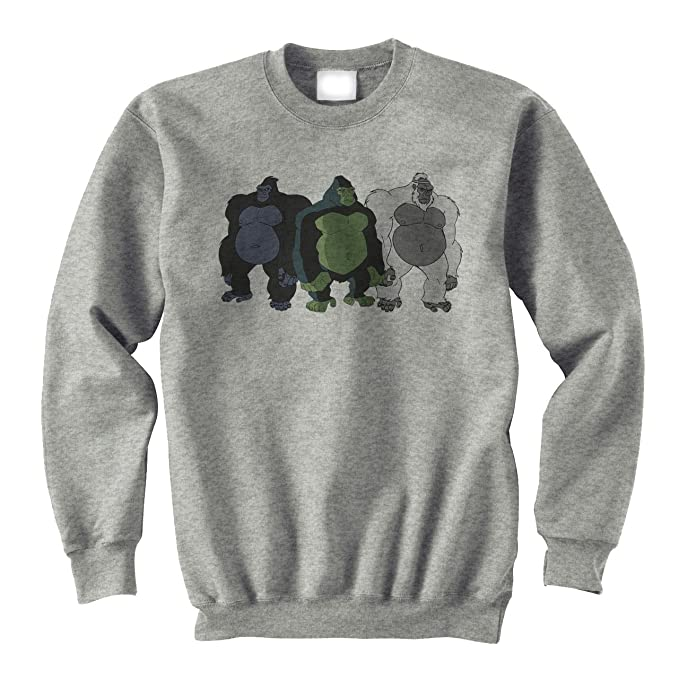 Badass Gorillas Looking For Banana XXL Unisex Sweater: Amazon.es: Ropa y accesorios