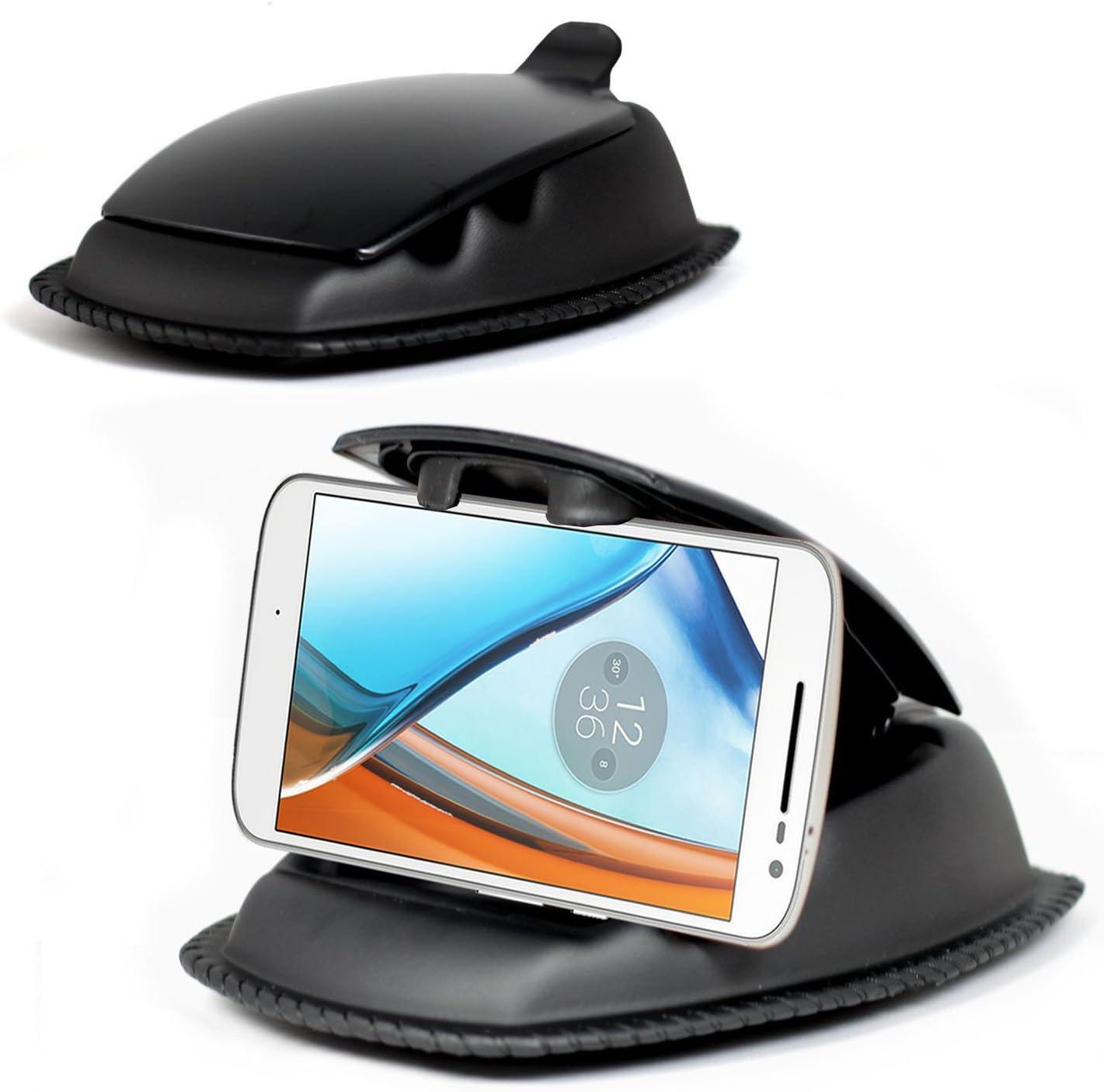 Motorola Moto E5 Plus Car Mount BoxWave Minimus MagnetoMount Magnetic Car Holder for Motorola Moto E5 Plus Magnetic Car Mount