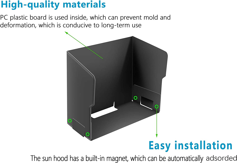 BTG Smart Phone Sunshade Hood Sun Hood Compatible with DJI Mavic ...