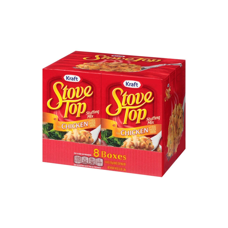Kraft - Mezcla de relleno para estufa de pollo Caja de 8 ct ...