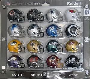 NFL Speed Pocket Helmet NFC Conference Set: Amazon.es