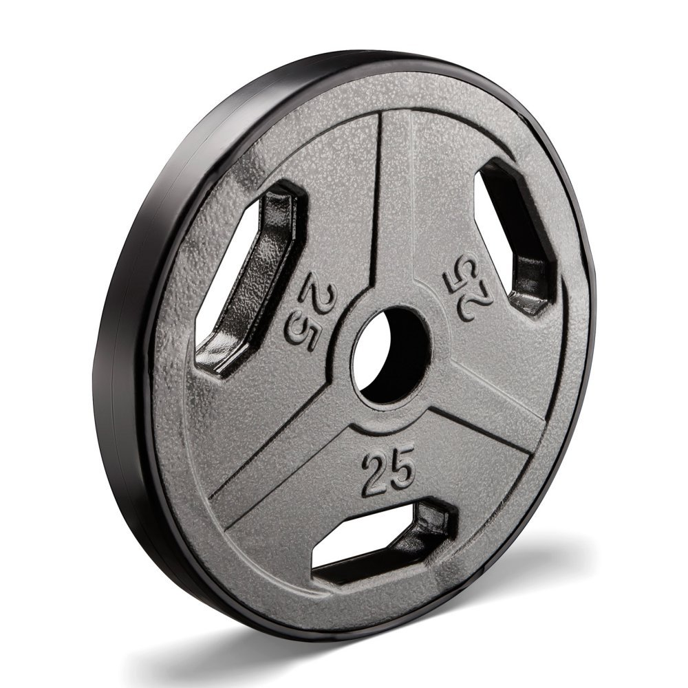 Marcy Classic ECO Olympic Grip Plate, 25-Pound Impex MCW25