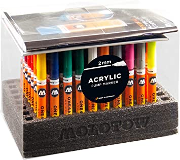 """MOLOTOW ONE4ALL 127HS Marker Display Set /""""Complete/"""""""