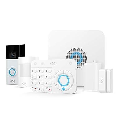 Ring Video Doorbell 2 + Ring Alarm 5 Piece Kit