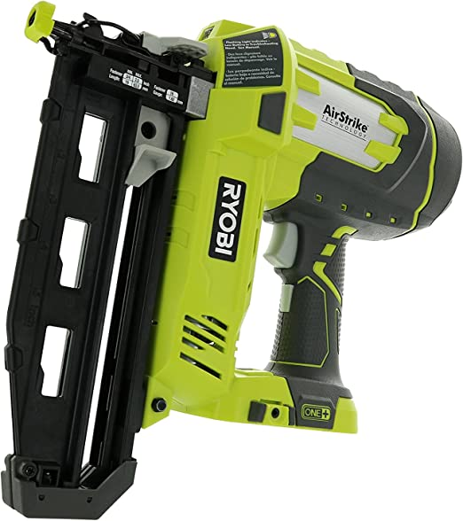 Ryobi P325 One 18v Lithium Ion Battery Powered Cordless 16 Gauge Finish Nailer Battery Not Included Power Tool Only