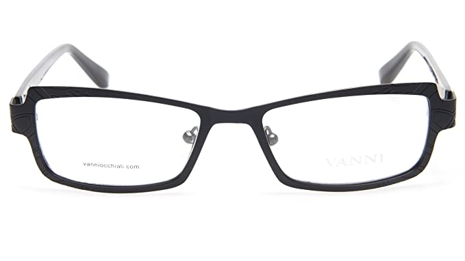 805f477c16 Amazon.com  NEW VANNI OCCHIALI V8192 C31 BLACK EYEGLASSES GLASSES ...
