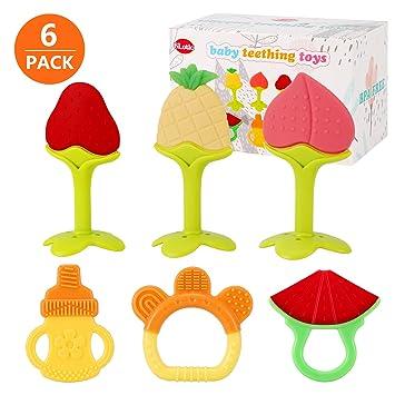Amazon.com: SLotic - Juguetes para dentición de bebé, 6 ...
