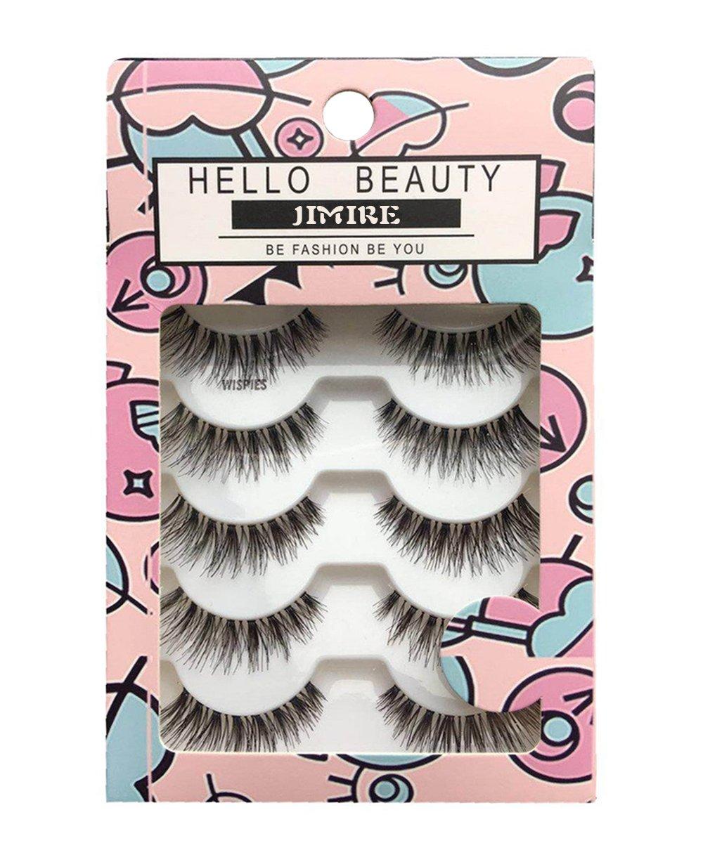 Jimire Hello Beauty Multipack Demi Wispies False Eyelashes by Amazon