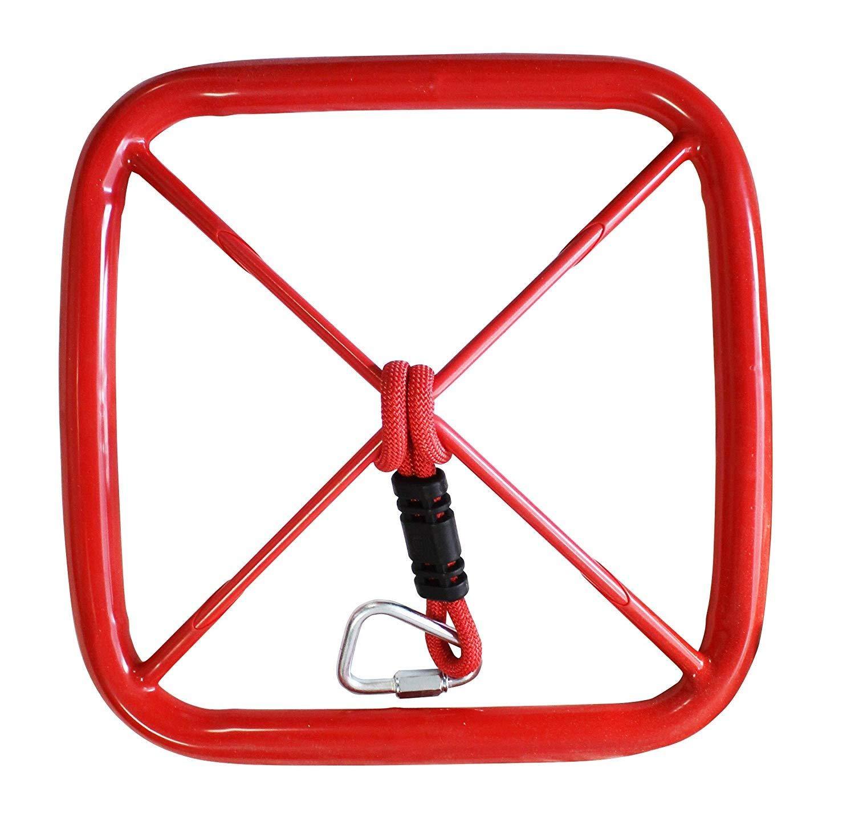 American Ninja Warrior Square Ninja Wheel Slackers