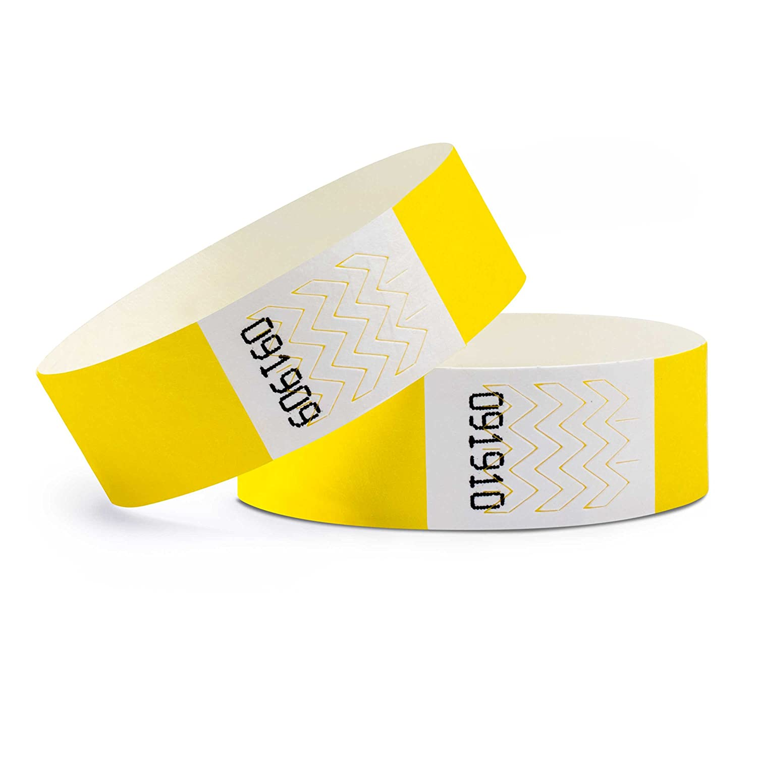 Pack of 100 wristbands Tyvek/® 19 mm linie zwo/®