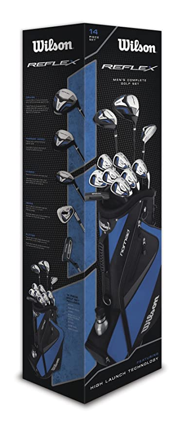 Wilson Reflex HL - Juego de palos de golf para hombre (15 ...