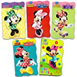 Disney Minnie Mouse Ultimate Board Books Set For Kids Toddlers -- Pack of 5 Books