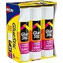 6-Piece Avery Glue Stic 1.27-Oz. White