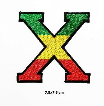 2 Pack Rasta Lion Of Judah RASTAFARI ETHIOPIAN Reggae Jamaica Flag patch  Logo Polo T-shirt Patch Sew Iron on Embroidered Badge Sign Custum   Amazon.co.uk  ... 745ab9b403fdf