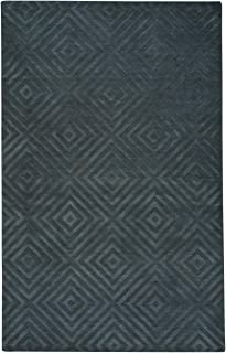product image for Atrium-Spirit Coal 5' x 8' Rectangle Hand Loomed Area Rug
