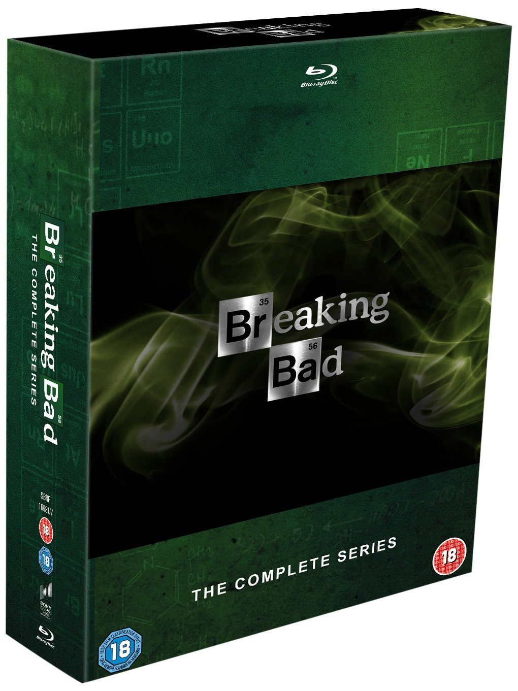 breaking bad the complete series box set dvd blu ray disc television series hd 799491431560 ebay. Black Bedroom Furniture Sets. Home Design Ideas