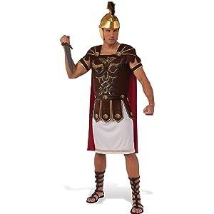 Disfraz de Gladiador Romano para Hombre Talla M: Amazon.es ...